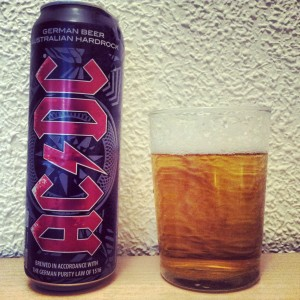 La cerveza de AC/DC