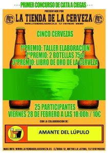 Primer concurso de cata a ciegas en La Tienda de la Cerveza [ACTUALIZADO]